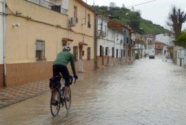 2012 - Crue du Guadalquivir à Mogon (Espagne)