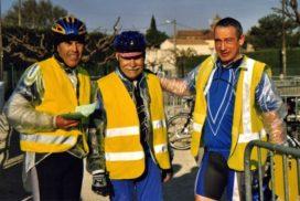 2006 - Arrivée de la flèche Vélocio à Camaret (84)
